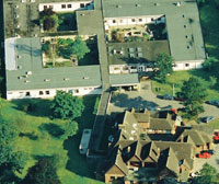 Wallingford Hospital in the 1980s